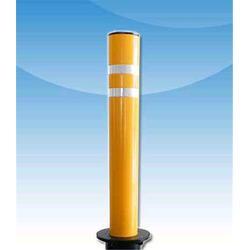 停车场不锈钢防撞柱-路景交通设施(在线咨询)-不锈钢防撞柱图片