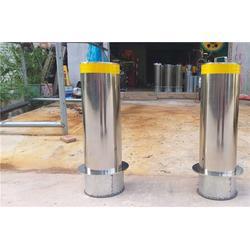 不锈钢防撞柱订做-四川不锈钢防撞柱-路景交通设施防撞桶