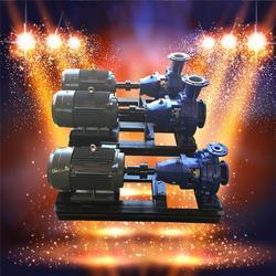 耐腐蚀塑料泵,IHF100-80-200耐碱离心泵图片