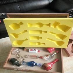 弧形eva雕刻内衬海绵内衬雕刻EVA包装内托EVA包装盒可订制图片