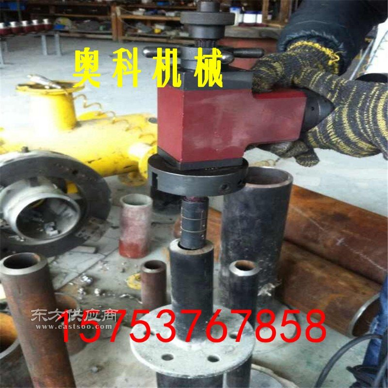 钢管管口倒角机圆管焊接坡口电动坡口机�日鞘狡驴诨�图片