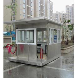 工业园区岗亭,不锈钢保安岗亭,苏州路安(优质商家)图片