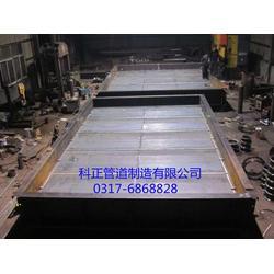出口烟气脱硫挡板门|挡板门|科正公司(多图)图片