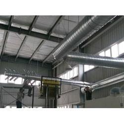 白铁通风管道生产商-桐庐白铁通风-永暖通风设备自产自销图片