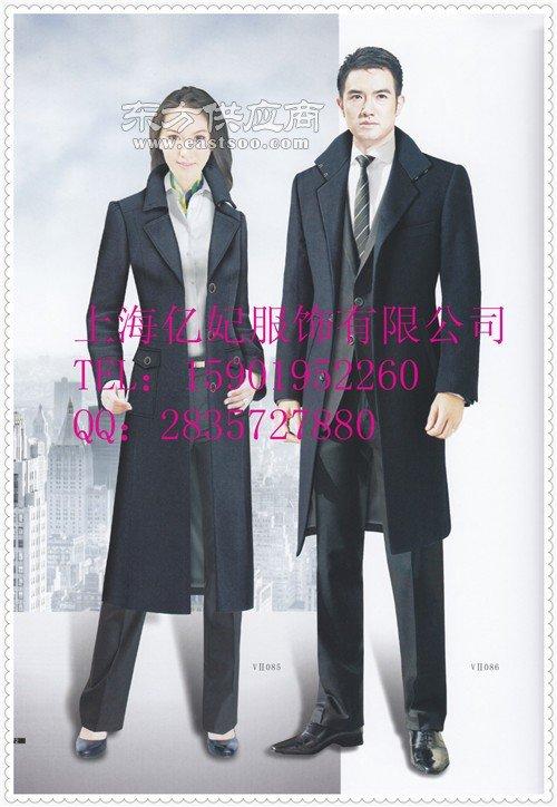 女士毛呢大衣,物业女大衣,银行大衣,导购员大衣订做颜色可换图片