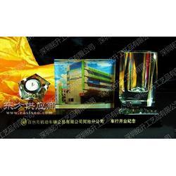 教师节水晶三件套 学校送老师办公礼品 水晶三件套摆台图片