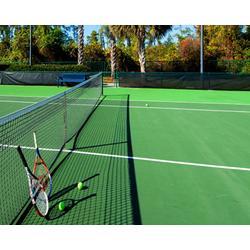 网球场改造施工-奥新体育场设施工程-焦作市网球场施工图片