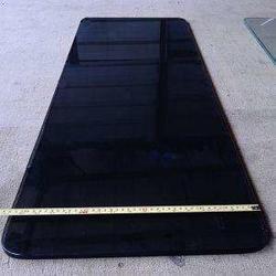 黑色玻璃厂家-镇江黑色玻璃-松海玻璃(查看)图片