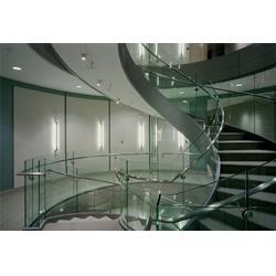 弯钢玻璃生产厂家-盐城弯钢玻璃-南京松海玻璃图片