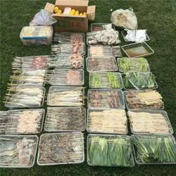同学聚会烧烤食材配送,郑州郊区烧烤食材配送,速捷烧烤配送图片