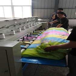 定做加宽型绗缝机厂家 定做的引被机多少钱一台图片