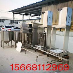 全自动豆干机哪里有卖,全自动豆干生产设备多少钱一套图片