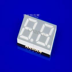 0.28寸贴片数码管 2821AB/2821CB 二位贴片数码管 蓝色贴片数码管图片