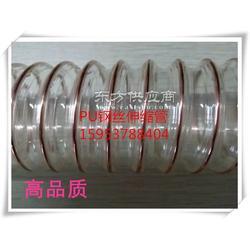 丰运PU钢丝伸缩管聚氨酯伸缩风管通风管木工吸尘管 各种大小规格图片