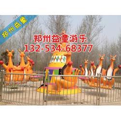 儿童广场欢乐袋鼠跳图片