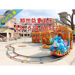大象造型火车图片
