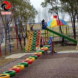 无动力游乐设施项目 滑梯组合 益童图片