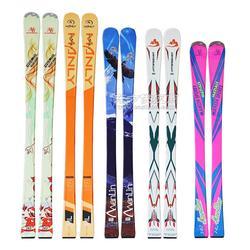 滑雪板加工厂 初级双板滑雪板图片