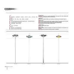 30米高杆灯杆,科锐德照明,30米高杆灯杆厂图片