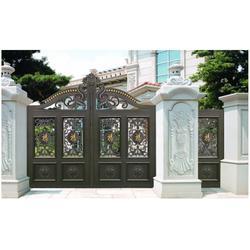 庭院门-【欧园居门业】(在线咨询)-济南庭院门图片