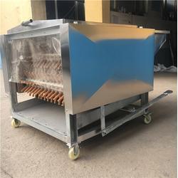 鸡鸭拔毛机生产厂家,黔西南鸡鸭拔毛机,诸城宏强机械图片