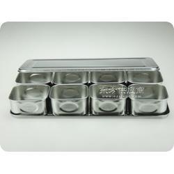 不锈钢调味盒304_不锈钢长方形盘子_三六不锈钢蒸饭盘图片