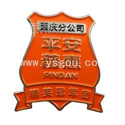 3D立体徽章订制厂家图片