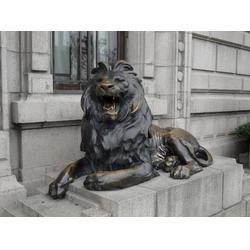 定制汇丰铜狮子_宁夏汇丰铜狮子_瑞宇铜雕塑图片
