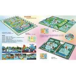 新疆充气水上乐园,郑州金华童游乐,充气水上乐园哪家好图片