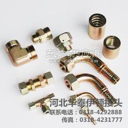 日本公制螺纹60锥面密封接头厂家直销量大从优伊顿标准软管接头图片