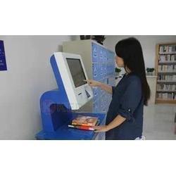 深圳自助借还书机、楚杰信息、触摸自助借还书机图片
