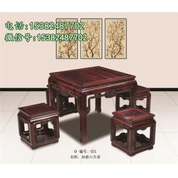 财源滚滚红木餐桌报价_吴越堂红木家具明式