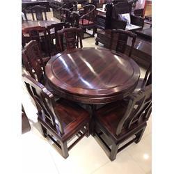 印尼黑酸枝家具制作-吴越堂红木家具图片