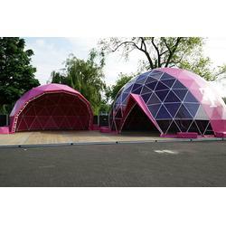 半透明篷房租赁-30米万科球形帐篷-英德半透明篷房图片