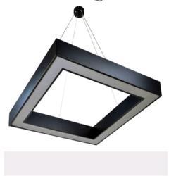 异形办公灯、佛山海灏照明、六边异形办公灯图片