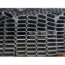 40-100镀锌扁圆管生产厂家图片