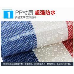 单面彩条布,太原飞宇塑胶公司,忻州彩条布图片
