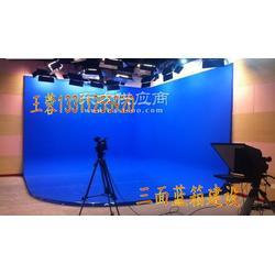 三维虚拟演播室搭建 二维半虚拟演播室建设 学校演播室设备图片