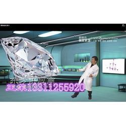 新维讯虚拟演播室建设非编系统 演播室抠像技术虚拟的三维立体生物图片