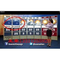 天气预报演播厅虚拟演播室建设装修,虚拟演播室非编技术图片