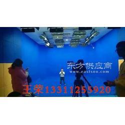 虚拟演播室蓝绿箱的设计施工商图片