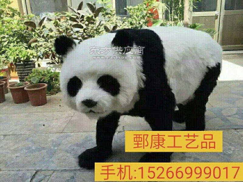 仿真熊猫生产厂家图片