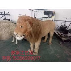 仿真狮子,狮子模型工艺品图片