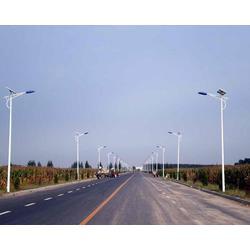 山西新农村太阳能路灯施工-金三普灯具图片