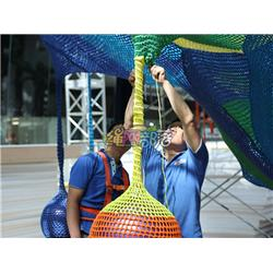 绳网部落游乐设备、儿童乐园生产厂家、儿童乐园图片