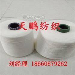 涤纶粘胶混纺包芯纱16支21支机织专用纱线图片