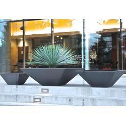 不锈钢花盆喷塑不锈钢花盆方锥不锈钢花盆室外图片