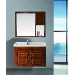 铝合金浴室柜材料哪里有 绿色环保 徐州铝合金浴室柜图片