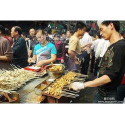 烤面筋街头小吃烤面筋纯手工穿制 面筋蘸料图片