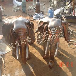 酒店门口铜大象|枣庄铜大象|乾虎铜雕厂